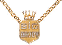 """2000's Riddick Bowe Personally Owned """"Big Daddy"""" Necklace"""