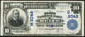 National Bank Notes:West Virginia, Welch, WV - $10 1902 Plain Back Fr. 626 The First NB Ch. # (S)9048 Fine-Very Fine.. ...