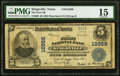 National Bank Notes:Texas, Kingsville, TX - $5 1902 Plain Back Fr. 609 The First NB Ch. # 12968 PMG Choice Fine 15.. ...