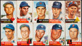 Baseball Cards:Lots, 1953 Topps Baseball Shoebox Collection (313) With HoFers, 18 High Numbers and 3 SPs. . ...