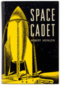 Books:First Editions, Robert Heinlein Space Cadet Hardcover First Edition (Scribners, 1948)....