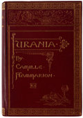 Books:First Editions, Nicolas Camille Flammarion Urania First Edition (Estes & Lauriat, 1890)....