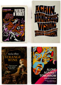 Books:Hardcover, Harlan Ellison Hardcover Volumes Group of 8 (Various, 1970s-90s).... (Total: 8 Items)