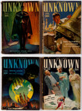 Pulps:Horror, Unknown Group of 12 (Street & Smith, 1939-40) Condition: Average GD.... (Total: 12 Comic Books)