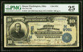National Bank Notes:Ohio, Mount Washington, OH - $10 1902 Date Back Fr. 619 The First NB Ch. # (M)9761 PMG Very Fine 25.. ...
