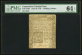 Colonial Notes:Connecticut, Connecticut June 19, 1776 1s 6d PMG Choice Uncirculated 64 EPQ.. ...