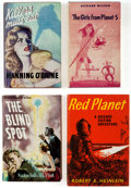 Books:Hardcover, Assorted Vintage Science Fiction Novels Group of 8 (Various, 1950s-60s).... (Total: 8 Items)