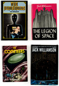 Books:Hardcover, Jack Williamson Signed Hardcover Editions Group of 22 (Various, 1950s-2000s).... (Total: 22 Items)