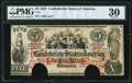 Confederate Notes:1861 Issues, T31 $5 1861 PF-2 Cr. 245 PMG Very Fine 30, COC.. ...