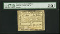 Colonial Notes:New Jersey, New Jersey June 9, 1780 $1 PMG About Uncirculated 55 EPQ.. ...