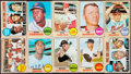 Baseball Cards:Lots, 1968 Topps Baseball Collection (654) with Stars. ...