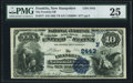 National Bank Notes:New Hampshire, Franklin, NH - $10 1882 Value Back Fr. 577 The Franklin NB Ch. # (N)2443 PMG Very Fine 25.. ...