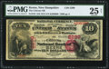 National Bank Notes:New Hampshire, Keene, NH - $10 1875 Fr. 416 The Citizens NB Ch. # 2299 PMG Very Fine 25 Net.. ...