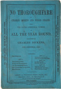 Books:Mystery & Detective Fiction, [Wilkie Collins]. Two Numbers of All the Year Round, containing Percy and the Prophet and No Tho... (Total: 2 Items)