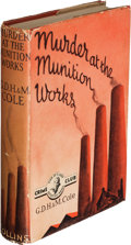 Books:Mystery & Detective Fiction, G. D. H. and M. Cole. Murder at the Munition Works. London: [1940]. First edition. G. D. H. Cole's copy.. ...