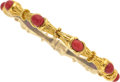 Estate Jewelry:Bracelets, Coral, Gold Bracelet, Tiffany & Co. . ...