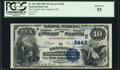 National Bank Notes:New Hampshire, Franklin, NH - $10 1882 Date Back Fr. 545 The Franklin NB Ch. # (N)2443 PCGS About New 53.. ...