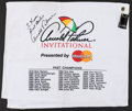Autographs:Others, Arnold Palmer Signed Memorabilia Lot of 3.... (Total: 3 items)