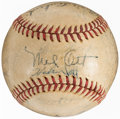 Autographs:Baseballs, 1947 New York Giants Team Signed Baseball (26 Signatures)....