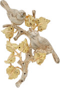 Estate Jewelry:Brooches - Pins, Gold Brooch, Buccellati . ...
