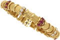 Estate Jewelry:Bracelets, Ruby, Diamond, Gold Bracelet, Tiffany & Co. . ...