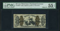 Fractional Currency:Third Issue, Fr. 1369 50¢ Third Issue Justice PMG About Uncirculated 55 EPQ.. ...