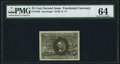 Fractional Currency:Second Issue, Fr. 1285 25¢ Second Issue PMG Choice Uncirculated 64.. ...