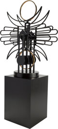 Sculpture, Charles Ringer (American, b. 1948). Phoenix. Metal kinetic sculpture. 48 x 36 x 13 inches (121.9 x 91.4 x 33.0 cm) (appr... (Total: 4 Items)