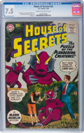 Silver Age (1956-1969):Horror, House of Secrets #34 (DC, 1960) CGC VF- 7.5 Cream to off-white pages....