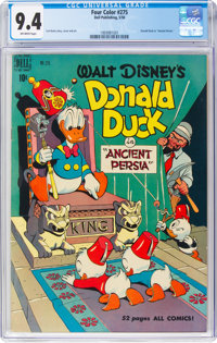 Four Color #275 Donald Duck (Dell, 1950) CGC NM 9.4 Off-white pages