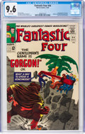 Silver Age (1956-1969):Superhero, Fantastic Four #44 (Marvel, 1965) CGC NM+ 9.6 White pages....