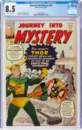 Silver Age (1956-1969):Superhero, Journey Into Mystery #92 (Marvel, 1963) CGC VF+ 8.5 Off-wh...
