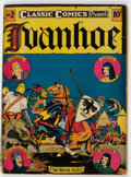 Golden Age (1938-1955):Classics Illustrated, Classic Comics #2 Ivanhoe - First Edition (Elliott Publishing, 1941) Condition: VG....