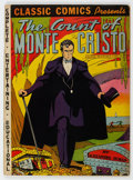 Golden Age (1938-1955):Classics Illustrated, Classic Comics #3 The Count of Monte Cristo - First Edition (Elliott Publishing, 1942) Condition: VG+....
