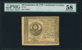 Colonial Notes:Continental Congress Issues, Continental Currency September 26, 1778 $30 PMG Choice About Unc 58.. ...