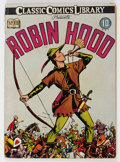 Golden Age (1938-1955):Classics Illustrated, Classic Comics #7 Robin Hood - First Edition (Gilberton, 1942) Condition: VG+....