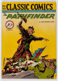 Classic Comics #22 The Pathfinder - First Edition (1A) (Gilberton, 1944) Condition: FN+