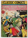 Golden Age (1938-1955):Classics Illustrated, Classic Comics #24 A Connecticut Yankee in King Arthur's Court - First Edition (Gilberton, 1945) Condition: FN+....