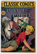 Golden Age (1938-1955):Classics Illustrated, Classic Comics #29 The Prince and the Pauper - First Edition (Gilberton, 1946) Condition: FN-....