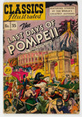 Golden Age (1938-1955):Classics Illustrated, Classics Illustrated #35 The Last Days of Pompeii - First Edition (Gilberton, 1947) Condition: FN....
