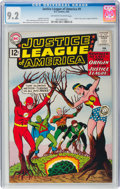 Silver Age (1956-1969):Superhero, Justice League of America #9 (DC, 1962) CGC NM- 9.2 Off-wh...