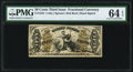 Fractional Currency:Third Issue, Fr. 1355 50¢ Third Issue Justice PMG Choice Uncirculated 64 EPQ.. ...