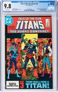 Modern Age (1980-Present):Superhero, Tales of the Teen Titans #44 (DC, 1984) CGC NM/MT 9.8 White pages....