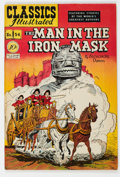 Golden Age (1938-1955):Classics Illustrated, Classics Illustrated #54 The Man in the Iron Mask - First Edition (Gilberton, 1948) Condition: VF-....