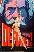 """Movie Posters, The Defiance of Good (1975). Rolled, Fine+. Trimmed One Sheet (27"""" X 40.5""""). Adult.. ..."""