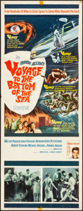 """Movie Posters:Adventure, Voyage to the Bottom of the Sea (20th Century Fox, 1961). Rolled, Fine/Very Fine. Insert (14"""" X 36""""). Adventure.. ..."""