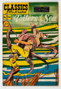 Golden Age (1938-1955):Classics Illustrated, Classics Illustrated #56 The Toilers of the Sea - First Edition (Gilberton, 1949) Condition: VF+....