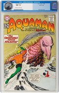 Silver Age (1956-1969):Superhero, Aquaman #7 Pacific Coast Pedigree (DC, 1963) CGC NM+ 9.6 Off-white to white pages....