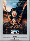 "Movie Posters:Animation, Heavy Metal (Columbia, 1981). Folded, Very Fine/Near Mint. Mini Poster (18"" X 24.5"") Advance, Chris Achilleos Artwork. Anima... (Total: 2 Items)"