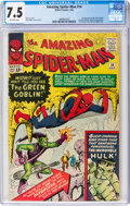 Silver Age (1956-1969):Superhero, The Amazing Spider-Man #14 (Marvel, 1964) CGC VF- 7.5 Off-white pages....